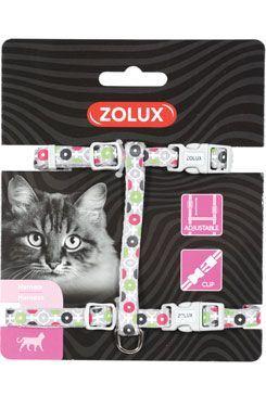 Postroj mačka ARROW nylon šedý Zolux