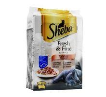 Sheba vrecko Fresh Fine Mixovaný výber v šťave 6x50g