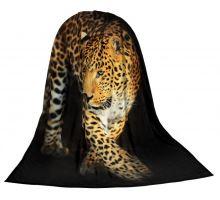 Deka TEXSTAR mikrovlákno 280g 150 x 200 cm - leopard