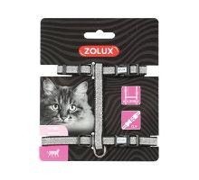 Postroj mačka SHINY nylon