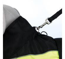 Reflexné oblečok SAFETY čierno-žltý XS 30 cm