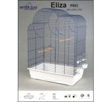 Klietka BIG ELIZA chrom 520x320x750mm