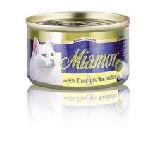 Miamor Cat Filet konzerva tuniak + prepeličie vajcia 100g