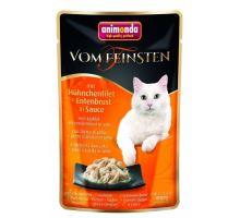 VF kapsička kuřecí filet + kachní prsa v jemné omáčce 50 g