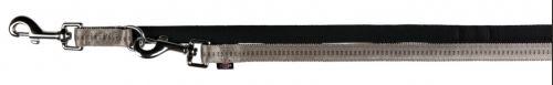 Vodítko SOFTLINE ELEGANCE predlžovacie (L-XL) 2,00 m / 25 mm, - červeno / béžové