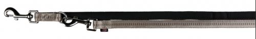 Vodítko SOFTLINE ELEGANCE predlžovacie (L-XL) 2,00 m / 25 mm, - čierno / béžové