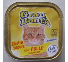 Gran Bonta paštéta s kuracím mäsom pre mačky 100g