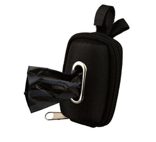 Mini taštička so zipsom na sáčky na trus, role á 20 ks