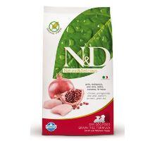 N&D Grain Free DOG Puppy S/M Chicken & Pomegranate 2 balenia 12kg