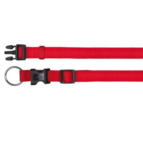 Nylonový obojok CLASSIC 40-65cm/25mm (L-XL) - červená VÝPREDAJ