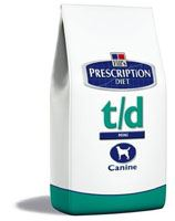 Hill 's Canine T / D Dry 10kg