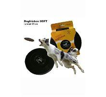 Lietajúci tanier Dr.Dog SOFT 21cm ČIERNY