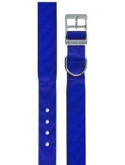 Obojok nylon DAYTONA C modrý 45cmx25mm