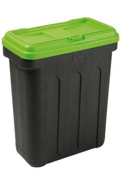 MAELSON Box na granule čierna / zelená 20kg