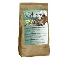 Pochúťka pre kone Delizia BIO Bronchial 1kg