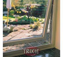 Ochranná mreža do boku okna, skosená 62 x 8/16 cm