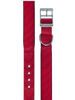 Obojok nylon DAYTONA C červený 63cmx40mm