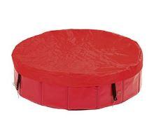 Plachta na bazén červená