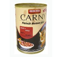 Animonda konzerva CARNY Adult - hovädzie, srdce 400g