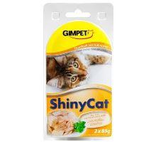 Gimpet mačka konz. ShinyCat tuniak / kurča 2x70g
