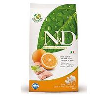 N & D Grain Free DOG Adult Fish & Orange 12kg