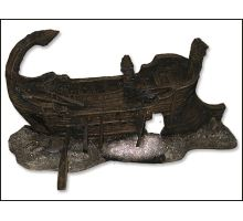 Dekorácie akvarijné Torzo lodi 29,5 x 17 x 15,5 cm 1ks