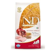 N & D Low Grain DOG Puppy Mini Chicken & Pomegranate 800g