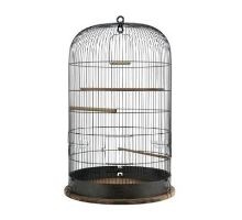 Klietka vtáky RETRO Martha kov / drevo 45x45x70cm Zolux