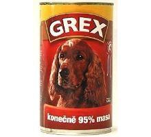 Grex konz. pes hovädzie 1280g