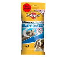 Pedigree Pochúťka Denta Stix Medium 5 +2 ks 180g