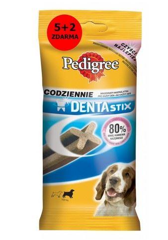 Pedigree Pochúťka Denta Stix Medium 5 +2 ks 180g