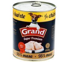 GRAND konz. pes Extra s 1/4 kurčaťa 850g