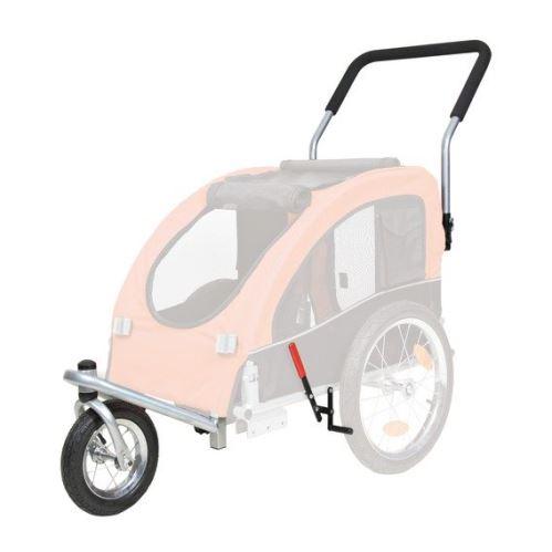 Predné koleso a držadlo k vozíku 24604, konverzie na behanie
