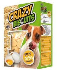 Piškóty Crazy Biscuits pre psov 180g Dibaq