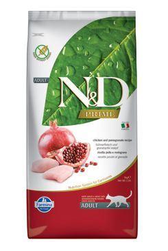 N & D PRIME CAT Adult Chicken & Pomegranate 10kg