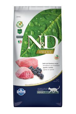 N & D PRIME CAT Adult Lamb & Blueberry 5kg