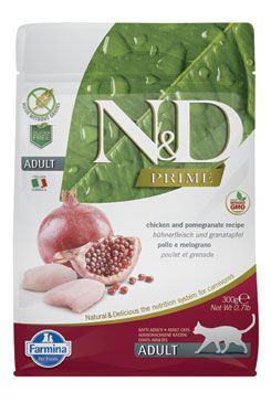 N & D PRIME CAT Neutered Chicken & Pomegranate 1,5kg