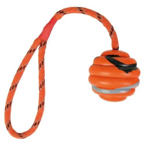 Vrhacia vlnitá lopta na šnúre 6cm/30cm