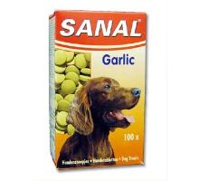Sanal pes Garlic s cesnakom a vitamíny 100tbl