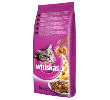Whiskas Dry s hovädzím mäsom 14kg