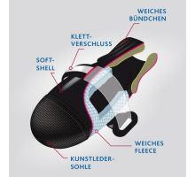 Komfortné ochranné nylonové topánočky XS, 2 ks (čivava)