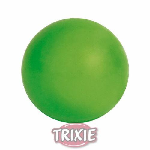 Plávajúca lopta, tvrdá guma 7cm Trixie