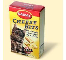 SANAL Cheesebits so syrom a kuraťom 75g