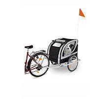 Vozík prívesný za bicykel pre psa 148x90x88cm PARIS KARLIE