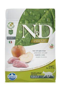 N & D PRIME CAT Adult Boar & Apple 300g