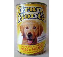 Gran Bonta konzerva kura, morka pre psov 400g