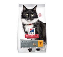 Hill 'Fel.Dry Mat Adult7 + Sterilised Cat Chicken 10kg