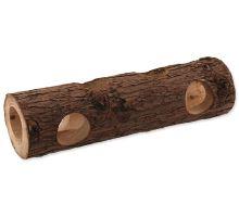 Úkryt SMALL ANIMAL Kmeň stromu drevený 7 x 30 cm 1ks