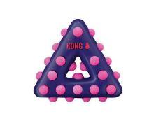 Hračka pes KONG Dotz trojuholník