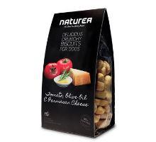 Naturea GF sušienky - paradajka, olivový olej, parmezán 230g